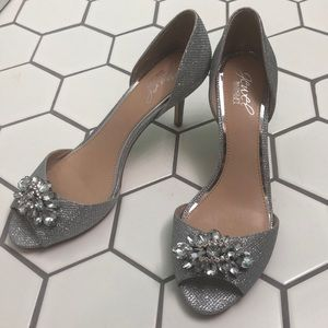 BADGLEY MISCHKA wedding perfect gorgeous shoes